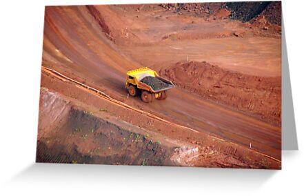 Pilbara - Haul Truck - Tom Price by Caroline Scott