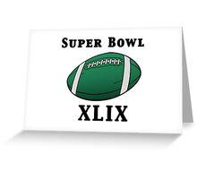 Super Bowl! Greeting Card