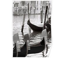 Gondola mornings Poster