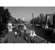 Amsterdam By The Canal Photographic Print