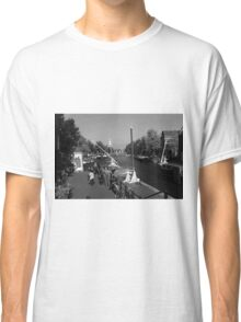 Amsterdam By The Canal Classic T-Shirt