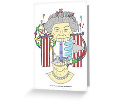 We are NOT amused ! Greeting Card