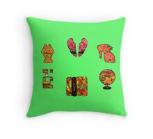 Coldplay fall Throw Pillow