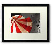~The Carnival is Over~ Framed Print