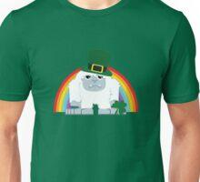 Cute Yeti Leprechaun Unisex T-Shirt