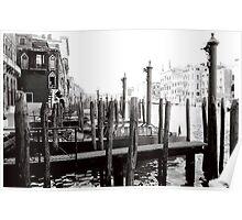Venice fog Poster