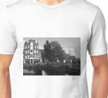 Canal Bridge In Amsterdam Unisex T-Shirt