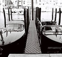 Two Boats by Venice
