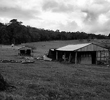 Run down farm by georgieboy98