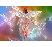 Angel Flowers Photographic Print