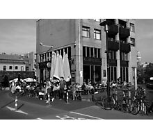 City Life In Amsterdam Photographic Print