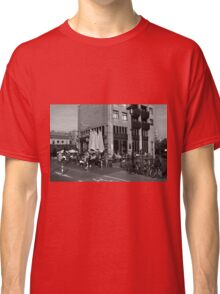 City Life In Amsterdam Classic T-Shirt