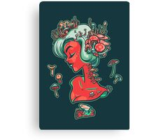 Madamme Mush Canvas Print