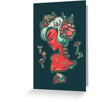 Madamme Mush Greeting Card