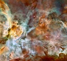 Hubble Space Telescope Print 0023 - The Carina Nebula - hs-2007-16-a-full_jpg by wetdryvac