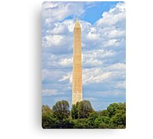 Monolithic Honor to Our Founding Father Canvas Print