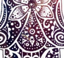 Midnight Fatima Hand Hamsa Sticker
