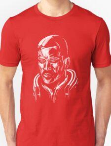 Shepard - Mass Effect - White T-Shirt