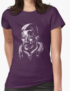 Shepard - Mass Effect - White Womens Fitted T-Shirt