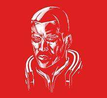 Shepard - Mass Effect - White Unisex T-Shirt