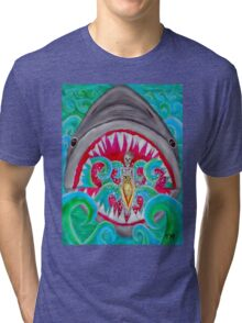 Surf's Up Lunch Break Tri-blend T-Shirt
