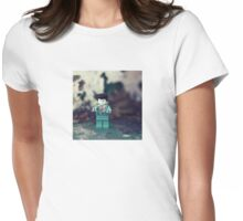 ::: { THE ZOMBIE } ::: Womens Fitted T-Shirt