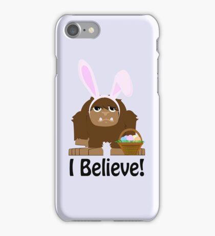 I Believe! Easter Bigfoot iPhone Case/Skin