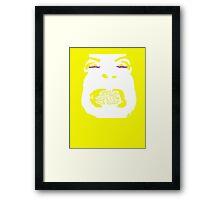 The Swear - Face II Framed Print