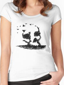 Carrion Crew Women's Fitted Scoop T-Shirt