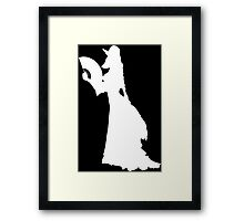 MLady Paintless Framed Print