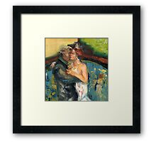 You and Me, Babe, @ the Tango Club Framed Print