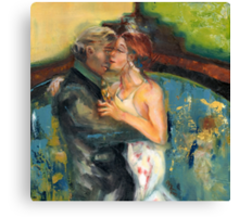 You and Me, Babe, @ the Tango Club Canvas Print