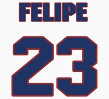 National baseball player Felipe Alou jersey 23 by imsport