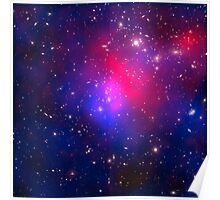 Hubble Space Telescope Print 0026 - Pandora's Cluster – Abell 2744  - hs-2011-17-a-full_jpg Poster