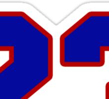 National baseball player Scott Cary jersey 23 Sticker