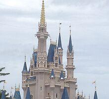Walt Disney World Castle by TVworld97