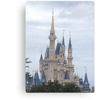 Walt Disney World Castle Canvas Print