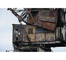 Rusty Crane  Photographic Print