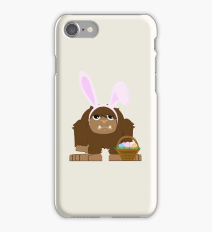 Cute Easter Bigfoot iPhone Case/Skin