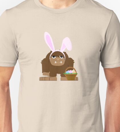 Cute Easter Bigfoot Unisex T-Shirt