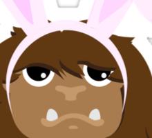 Cute Easter Bigfoot Sticker