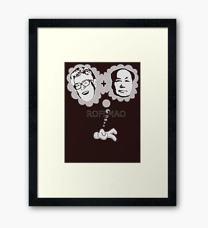 ROFLMAO Framed Print