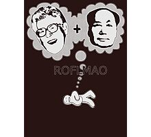 ROFLMAO Photographic Print