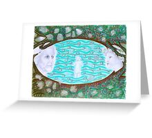 I Stand in the Middle of Eternity Greeting Card