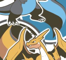 Mega Charizard x y Sticker