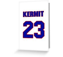 National baseball player Kermit Wahl jersey 23 Greeting Card