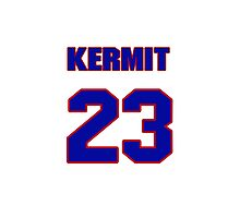 National baseball player Kermit Wahl jersey 23 Photographic Print