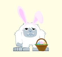 Cute Easter Yeti by Eggtooth