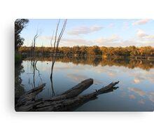 River Murrey mornings Canvas Print