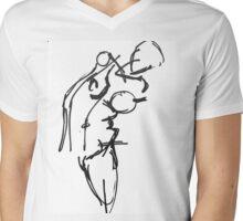 Existential Teen Mens V-Neck T-Shirt